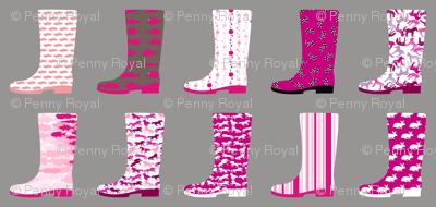 Gumboot Pinkness