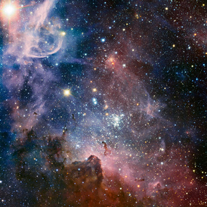 Carina Nebula 58x85 inches
