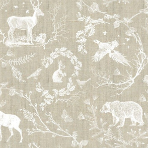 Winter Toile (beige)