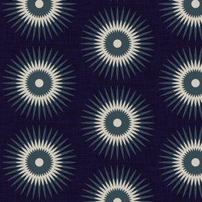 slate & navy starburst