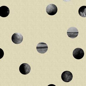 Oceans and Moon-like Spheres