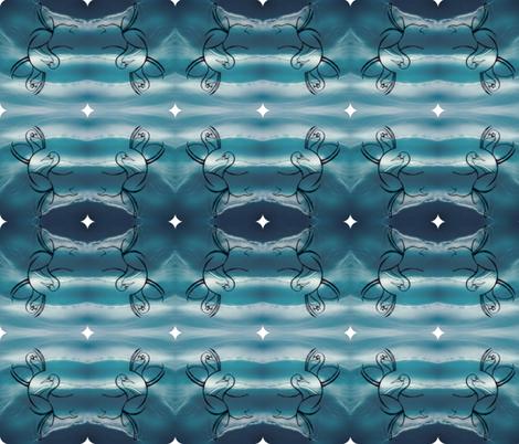 Swans fabric by suebee on Spoonflower - custom fabric