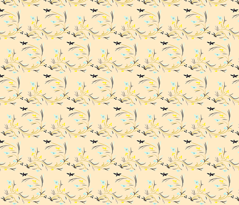Lily  fabric by firedryad1 on Spoonflower - custom fabric