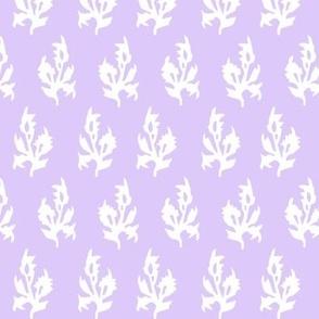 Mini block print in Lavender