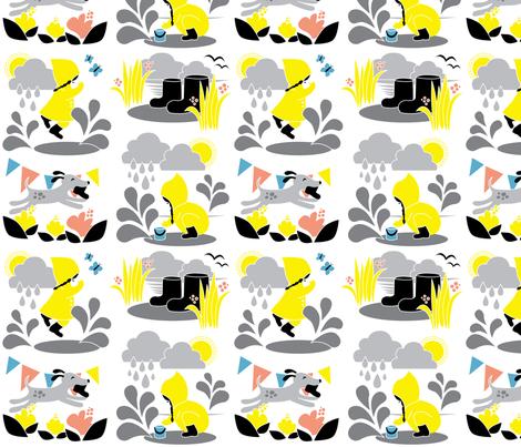 Water and fun! fabric by joyfulfabric on Spoonflower - custom fabric