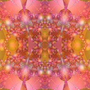 Jeweled Necklace Bubble Fractal © Gingezel™