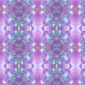 Purple and Blue Bubble Fractal
