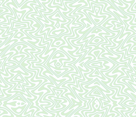 Art nouveau butterfly swirls - pale mint fabric by weavingmajor on Spoonflower - custom fabric