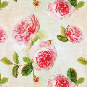 Vintage Peony Floral