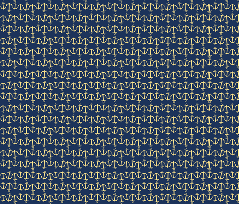 anchor wave yellow n navy