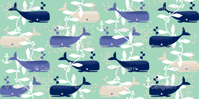 Whale Watching (blue)