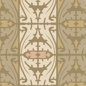 Art Nouveau Serpentine 1d