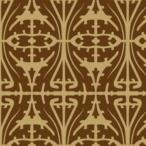 Art Nouveau Serpentine 1b