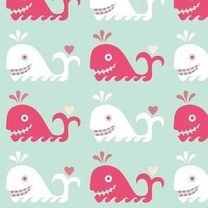 Whale Fun Pastels