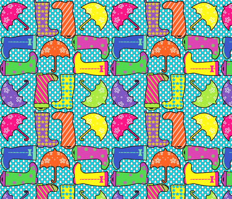 Springalosh fabric by mahoneybee on Spoonflower - custom fabric