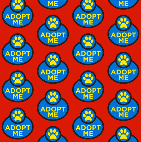 Adopt Me fabric by brainsarepretty on Spoonflower - custom fabric