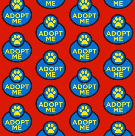 Adopt Me fabric by brainsarepretty on Spoonflower - custom fabric