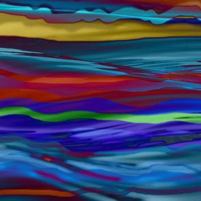 Nova Scotia Waves-After the Hurricane, (Earl)