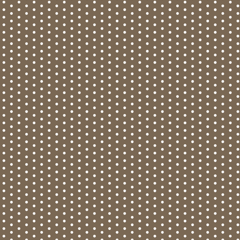 white dots on brown