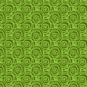 Spring Bed of Roses Swirl Small-Lime