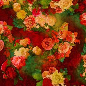 Vintage Roses Pattern