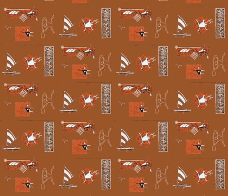 001-ch-ch-ch-ch-ch fabric by sophista-tiki_by_dawn_frasier on Spoonflower - custom fabric