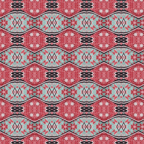 floral patchwork batik 4