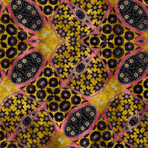 floral patchwork batik 6