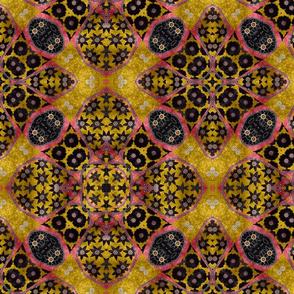 floral patchwork batik 9