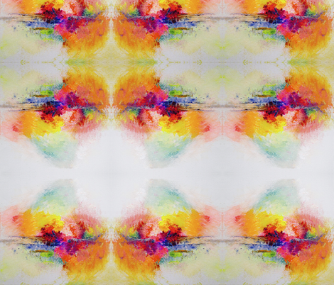 Colorful Painted Abstract fabric by theartwerks on Spoonflower - custom fabric