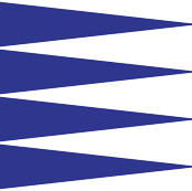 big blue triangle