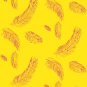 Raspberry lemonade feathers
