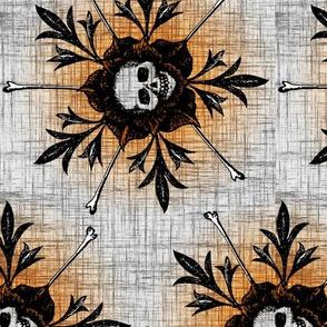 Skull Flower Vertical