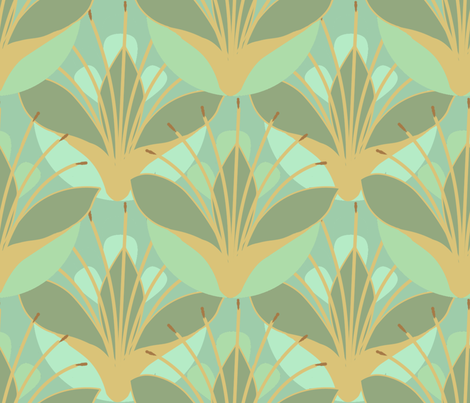 lily, my one and only fabric by cornie on Spoonflower - custom fabric