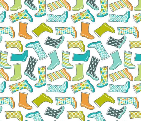 fancy wellies fabric by cjldesigns on Spoonflower - custom fabric