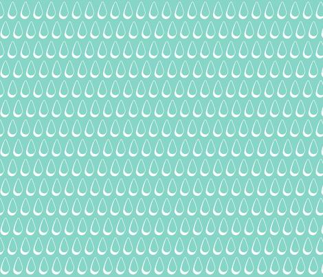 rain drops fabric by cjldesigns on Spoonflower - custom fabric