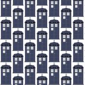 Small Blue Tardis