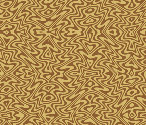art nouveau faux bois  fabric by weavingmajor on Spoonflower - custom fabric