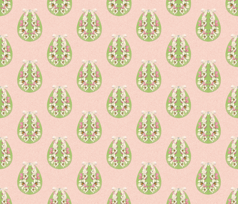 Easter Egg Lily fabric by judyjo on Spoonflower - custom fabric