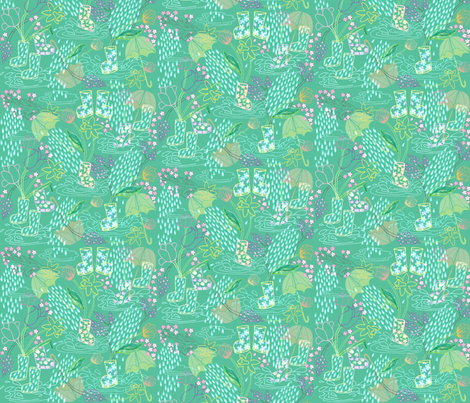 I'm Happy Again fabric by graceful on Spoonflower - custom fabric