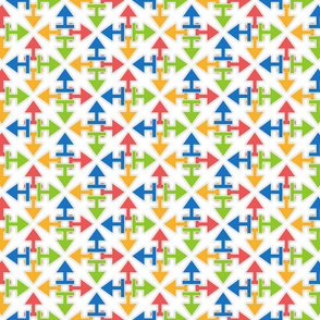 arrows_starshaped_pattern