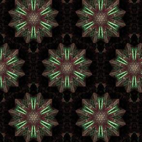 Magenta star flowers