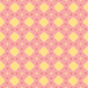 sherbet pink circles
