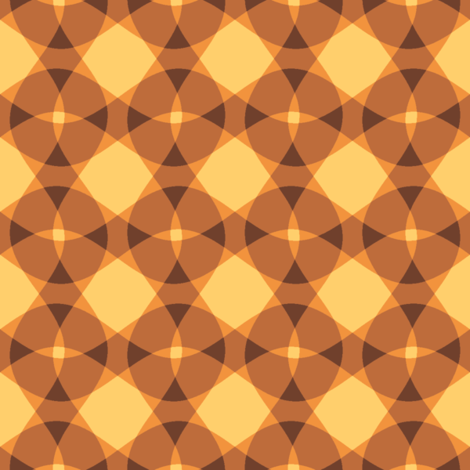 sunrise lattice fabric by weavingmajor on Spoonflower - custom fabric