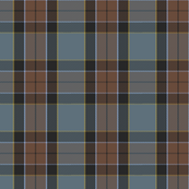 altered Graham of Menteith tartan (weathered, with cyan/gold)