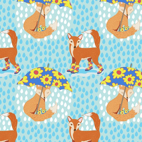 Foxes in Galoshes Simpler Version