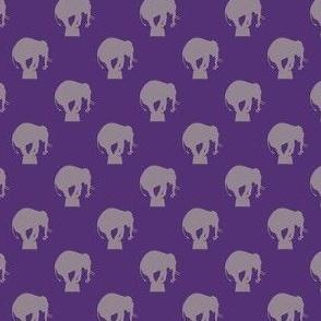 circus elephant purples