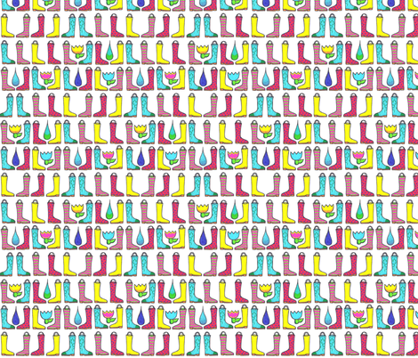 rain_boots fabric by tiffany_r on Spoonflower - custom fabric