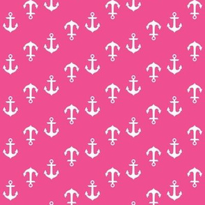 Hot Pink Anchors