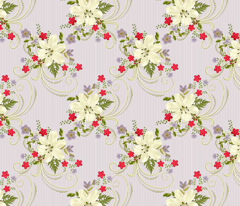 lily3_cp fabric by cindypie on Spoonflower - custom fabric